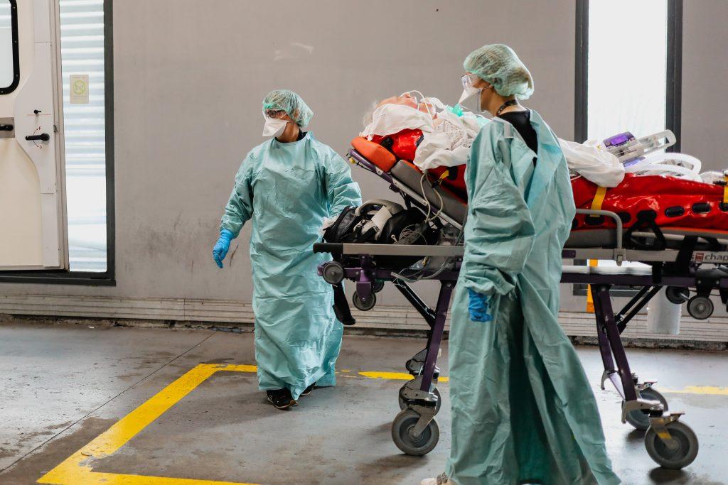 Transfert d'un patient COVID vers l'Allemagne